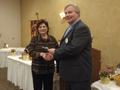 Thanks To The Mt. Pleasant Lions Club