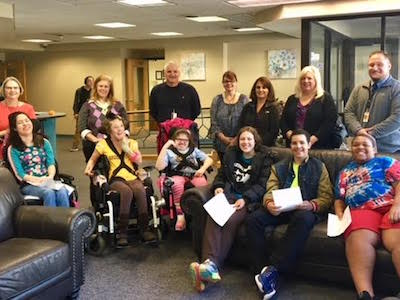 Visit By Greensburg Salem Special Education Students