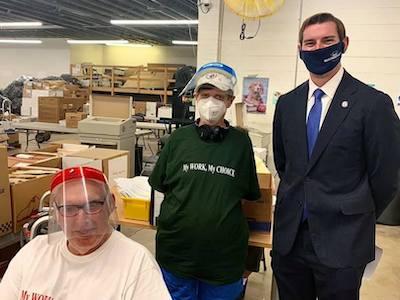 Visit by Matt Mackowiak from Congressman Guy Reschenthaler's Office